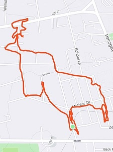Strava Art Moose smaller by Lars Hunter