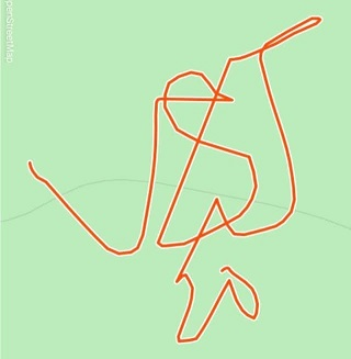 Strava Art VSJ20 smaller by Lily Sadler